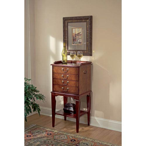 Butler Specialty Company Plantation Cherry Silver Chest