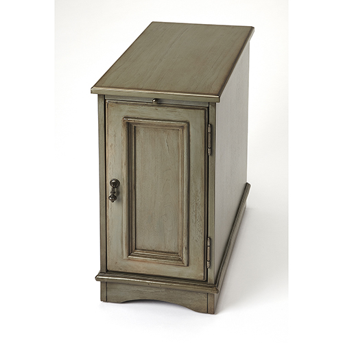 Harling Silver Satin End Table