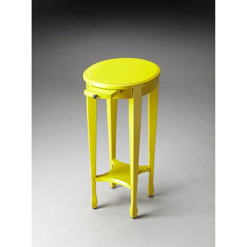 Butler Loft Yellow Round Accent Table