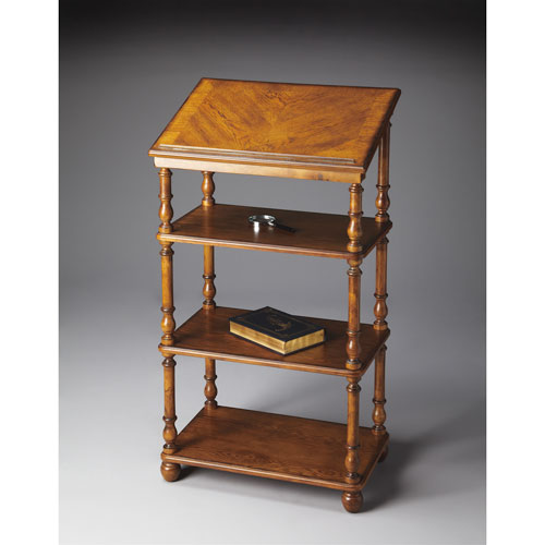 Masterpiece Vintage Oak Library Stand