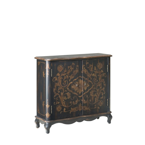 Artists Originals European Black Console Chest