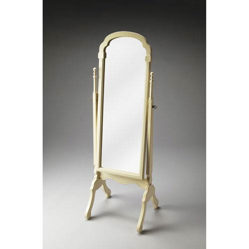 Butler Specialty Company Cottage White Cheval Mirror