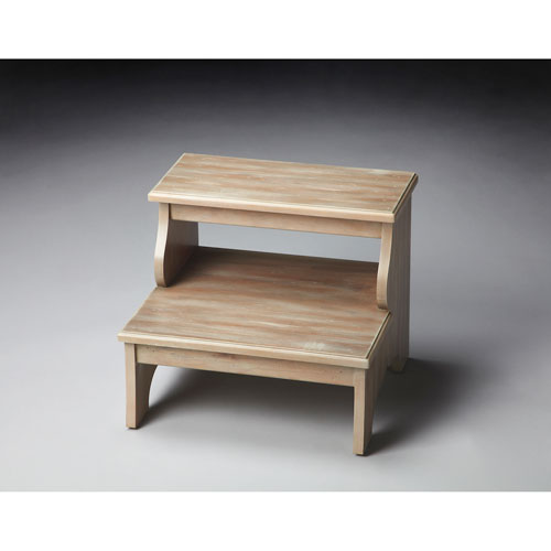 Masterpiece Driftwood Step Stool