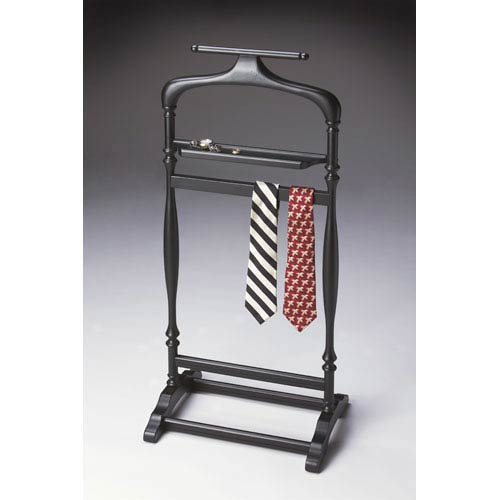 Butler Specialty Company Black Licorice Coin Shelf Valet