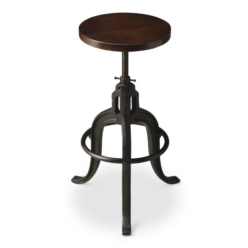 Metalworks Iron Revolving Bar Stool