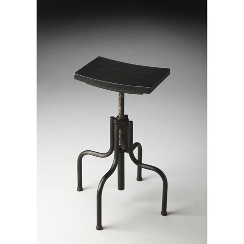 Metalworks Rectangular Revolving Bar Stool