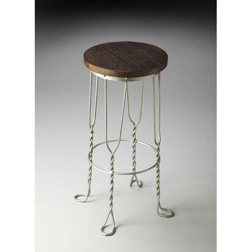 Butler Specialty Company Metalworks Recycled Wood Solids Bar Stool