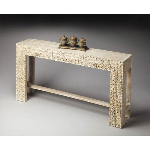 Butler Specialty Company Artifacts Recycled Mango Wood Console Table