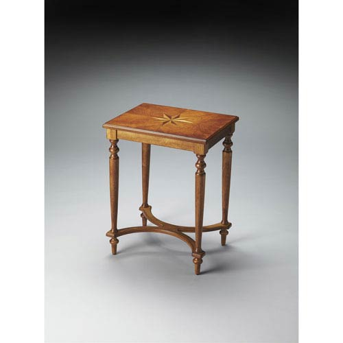 Butler Specialty Company Tyler Olive Ash Burl Table