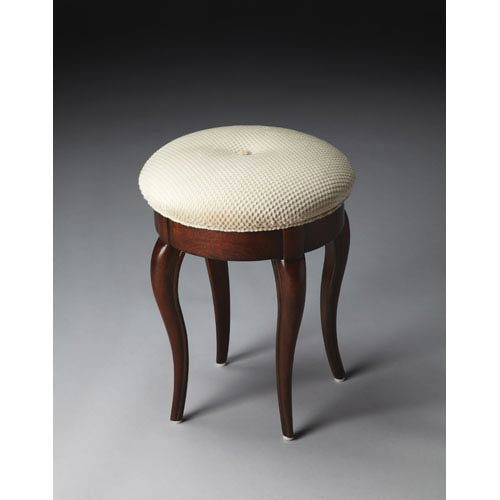 Plantation Cherry Vanity Stool