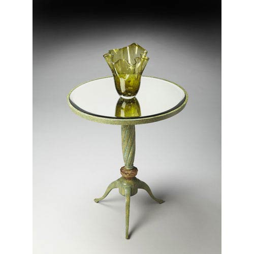 Butler Specialty Company Metalworks Daffodils Accent Table