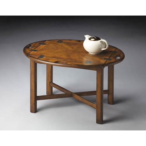 Masterpiece Vintage Oak Butler Table