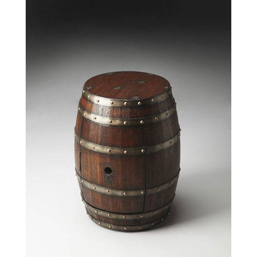 Butler Specialty Company Mountain Lodge 20.88-Inch Barrel Table