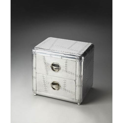 Butler Specialty Company Metalworks 19.25-Inch Aviator Side Table
