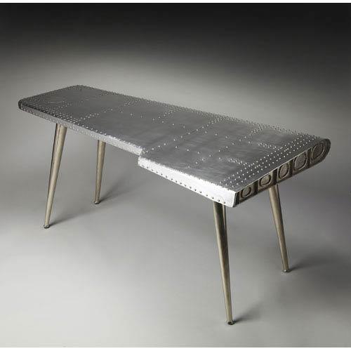 Metalworks Aluminum and Rivets Desk