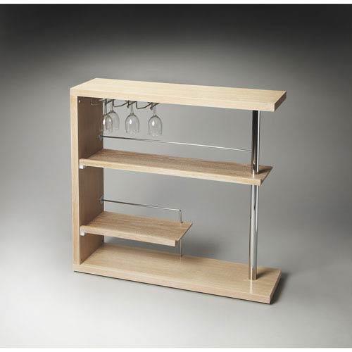 Butler Specialty Company Butler Loft Gray Dawn Bar Cabinet