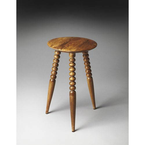 Butler Specialty Company Artifacts Rounded-Top Imbue Accent Table