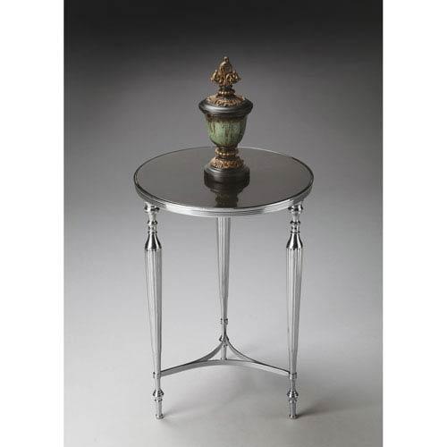 Butler Specialty Company Nickel Granite Top End Table