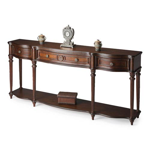 Plantation Cherry Cherry Console Table