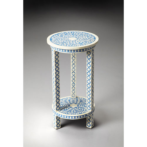 Amanda Blue Bone Inlay Table