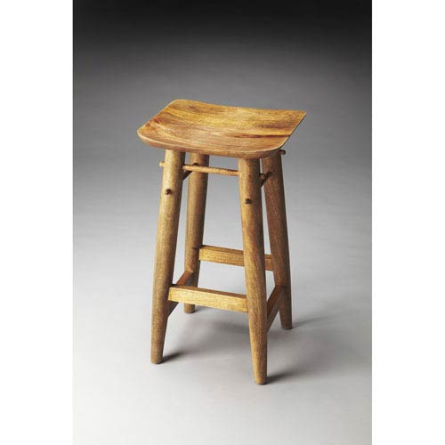 Astonishing Butler Specialty Company Lotus Solid Wood Bar Stool Onthecornerstone Fun Painted Chair Ideas Images Onthecornerstoneorg