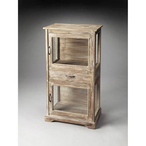 Hardin Rustic Display Cabinet