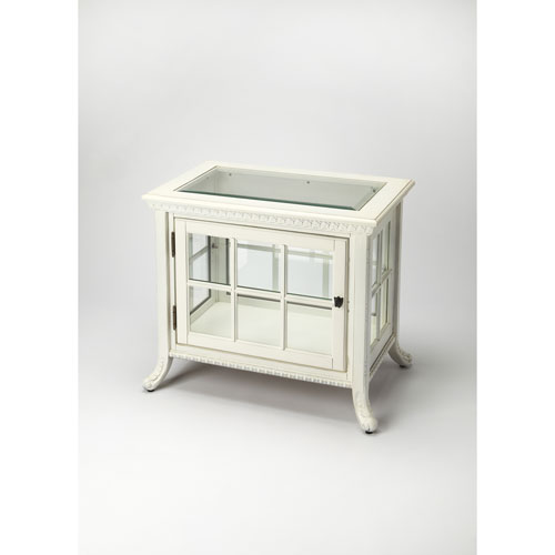 Butler Specialty Company Chopin Cottage White Side Chair Curio