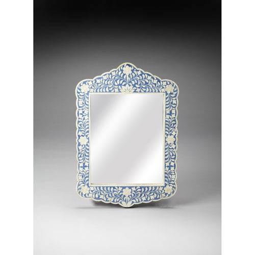 Butler Specialty Company Blue Bone Inlay Wall Mirror