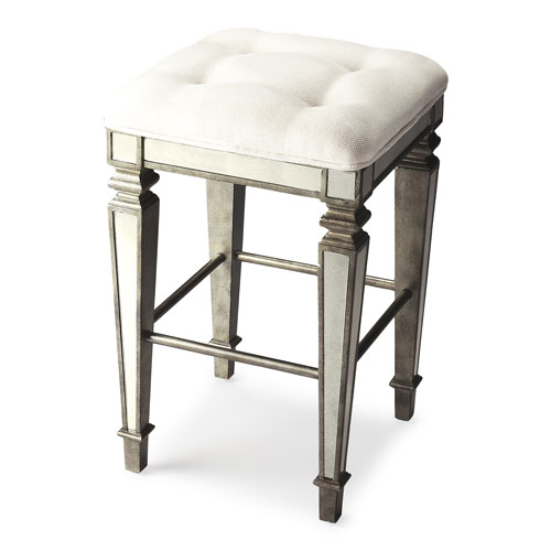 Celeste Mirrored Bar Stool
