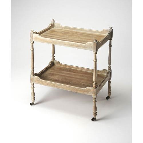 Rayburn Driftwood Serving Cart