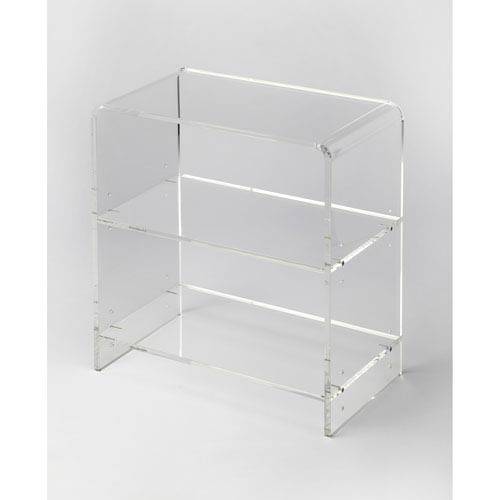 Butler Specialty Company Crystal Clear Acrylic Bookcase