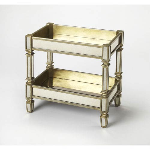 Bethany Mirrored Serving Table