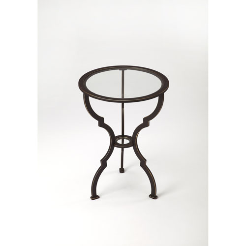 Yvonne Metal End Table