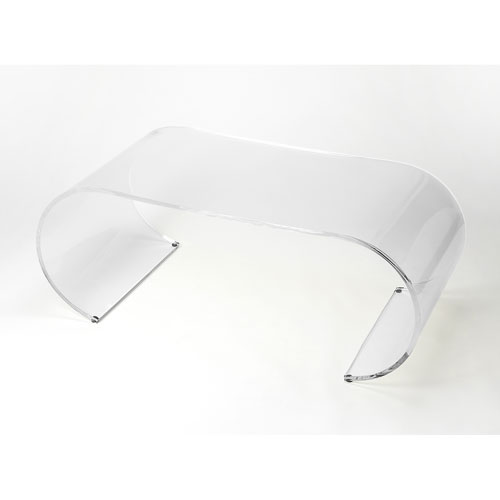 Milan Arched Acrylic Cocktail Table