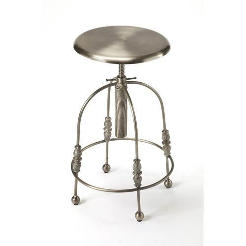 Butler Specialty Company Reavis Silver Bar Stool