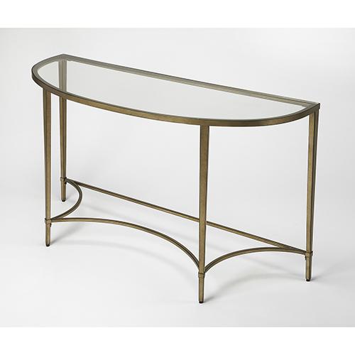 Butler Specialty Company Butler Monica Gold Demilne Console Table