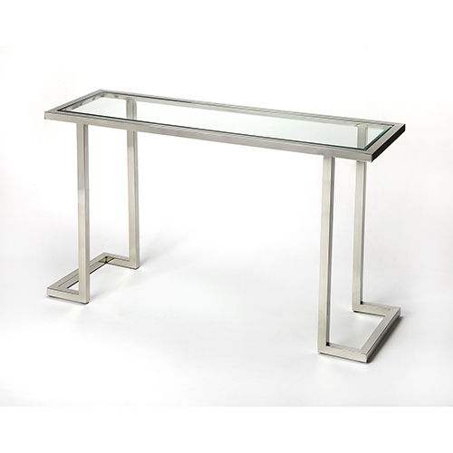 Butler Specialty Company Butler Iliad Stainless Steel Console Table