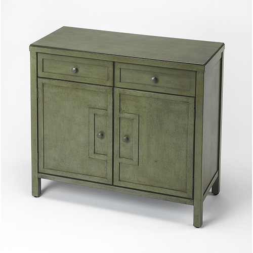 Butler Specialty Company Butler Imperial Green Console Cabinet