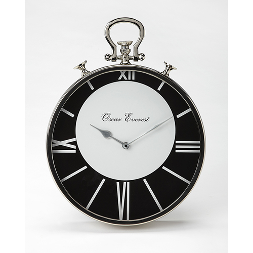 Black Modern Clocks Free Shipping | Bellacor