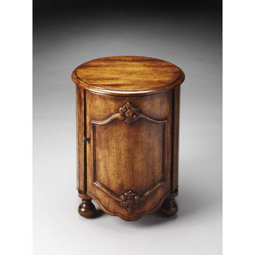 Kenwood Dark Toffee Drum Table