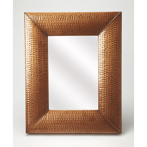 Butler Lehigh Hammered Copper Wall Mirror