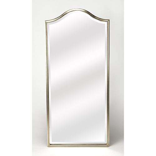 Butler Carmine Silver Wall Mirror