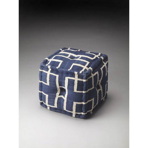 Berkeley Navy Pouf