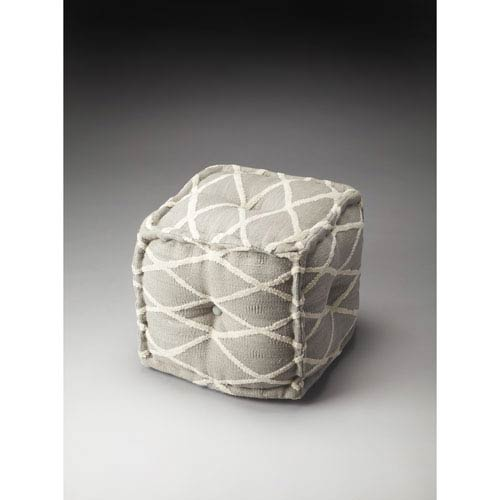 Berkeley Grey Pouf