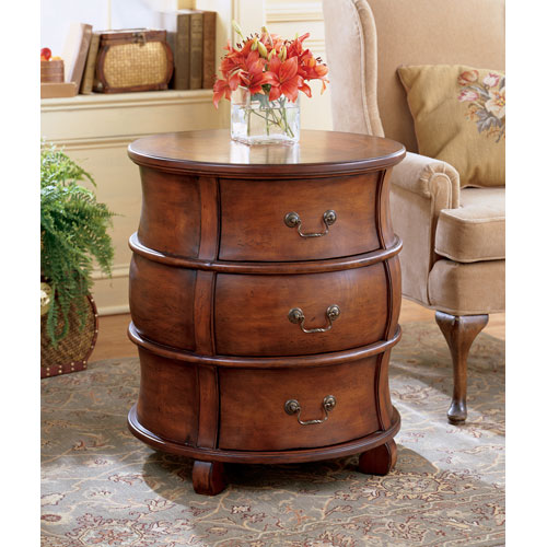 Butler Specialty Company Plantation Cherry Plantation Cherry Barrel Table