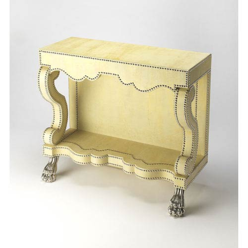 Bonino Yellow Console Table