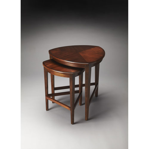 Delicieux Butler Specialty Company Finnegan Antique Cherry Nesting Tables