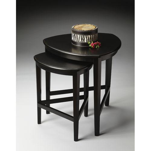Butler Loft Black Licorice Nesting Tables