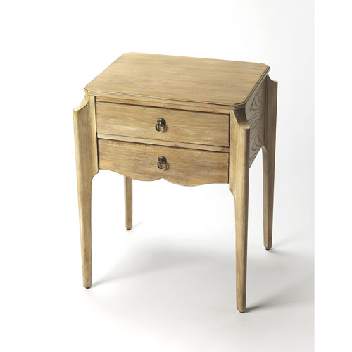 Wilshire Driftwood Accent Table
