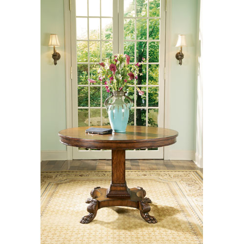 Connoisseurs Light Distressed Foyer Table